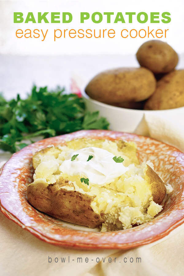Instant Pot Side Dishes - Baked Potatoes