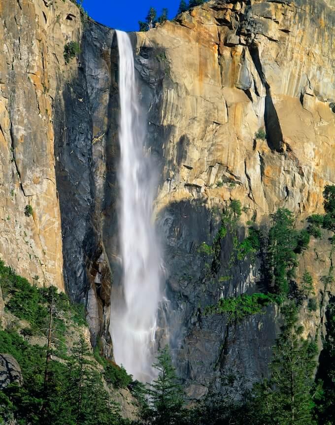 Bridal Veil Falls Yosemite National Park