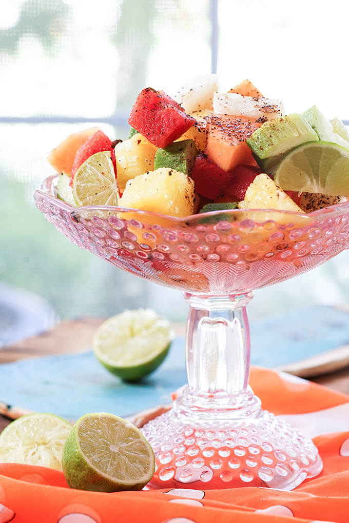 mexican fruit salad recipe  bowl me over