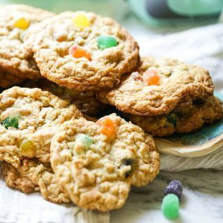 Oatmeal Gumdrop Cookie Recipe