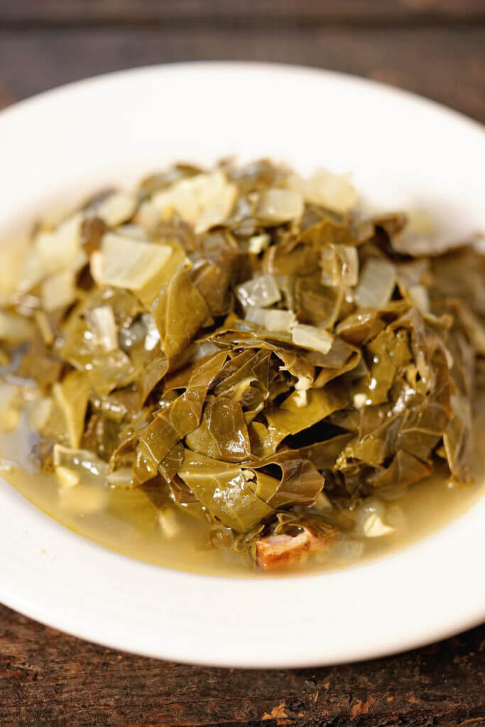 Holiday Side Dishes - Southern Style Collard Greens