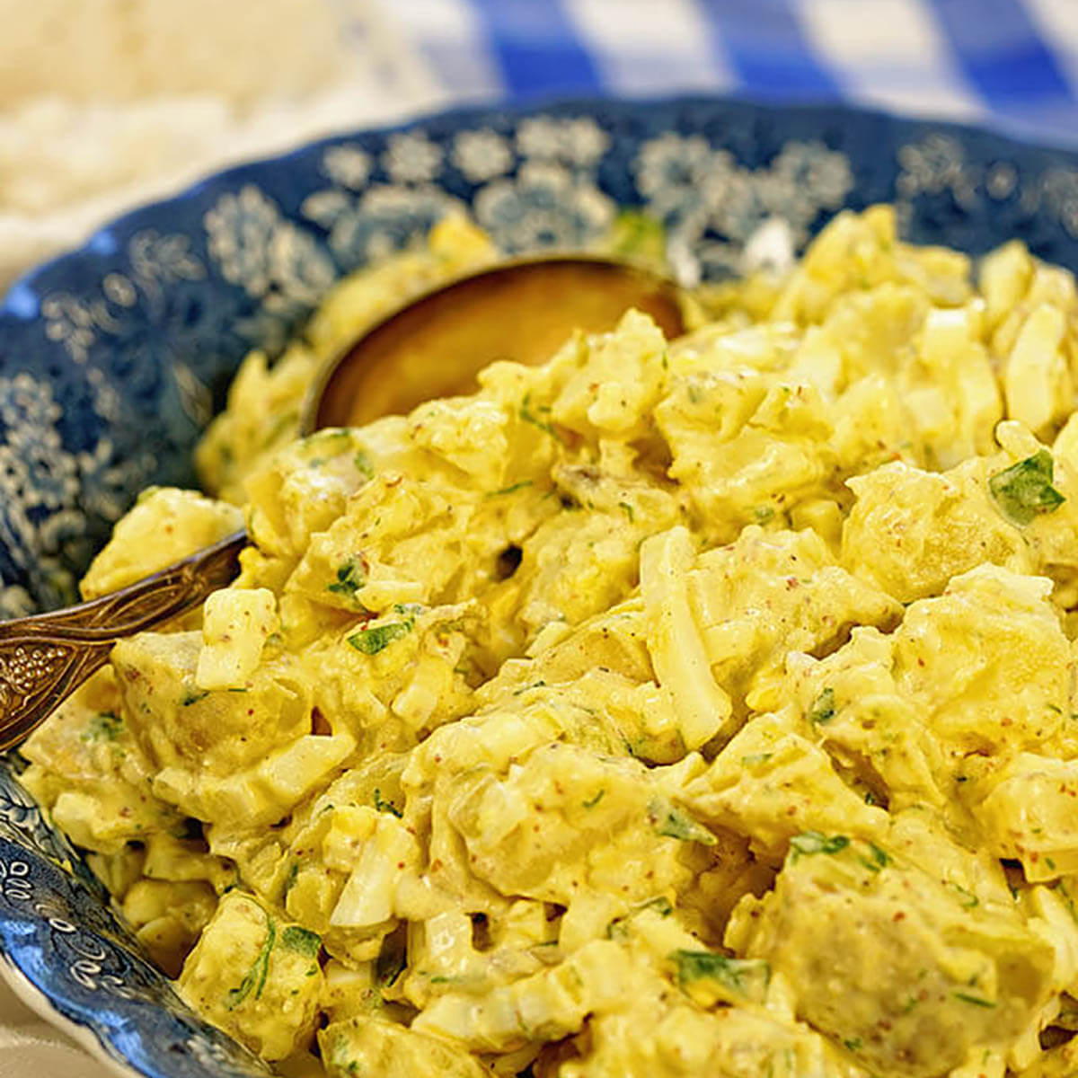 Southern Deviled Egg Potato Salad Recipe
