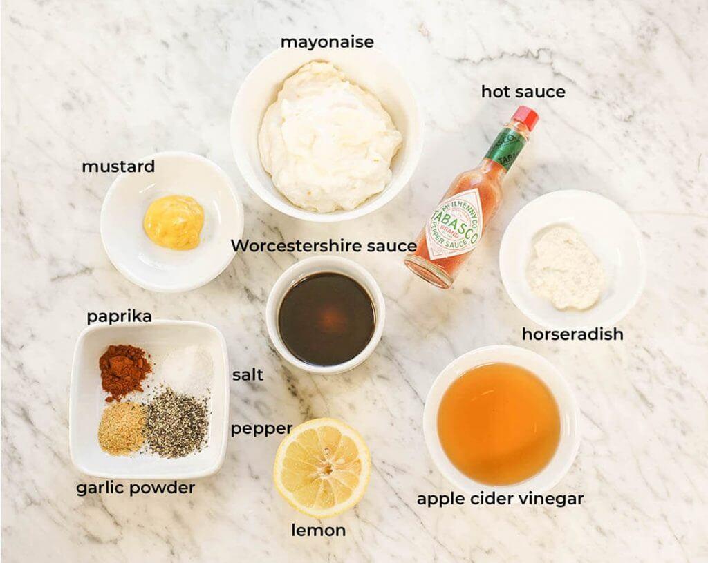 Alabama White BBQ Sauce Ingredients