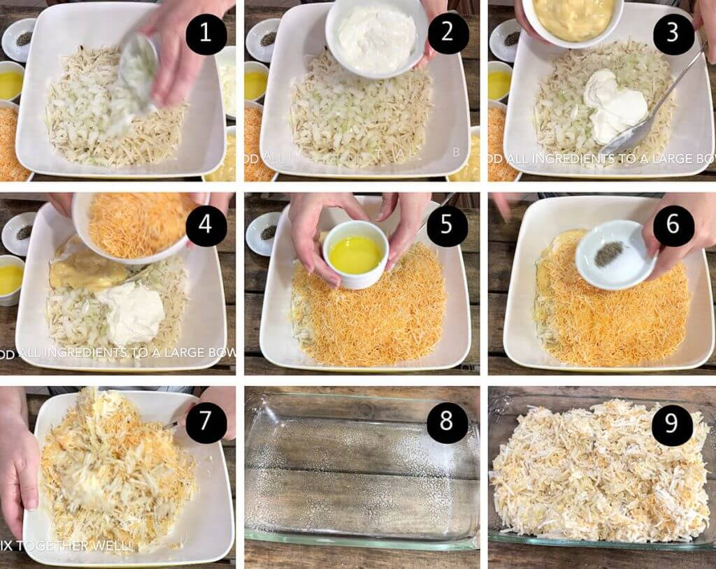 Step by step directions to make this recipe.
