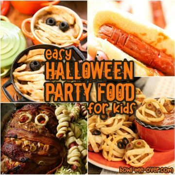 Photos of easy to make Halloween Party Food ideas!