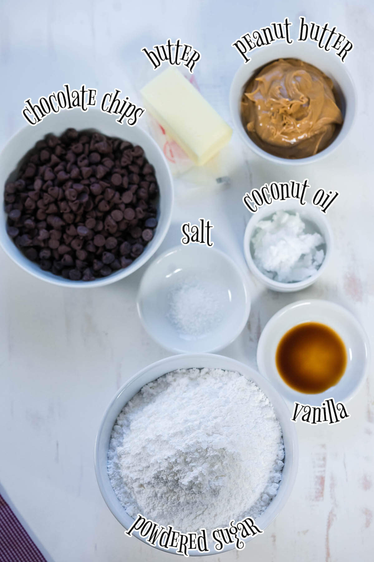 Photo showing ingredients for this recipe with print overlay.