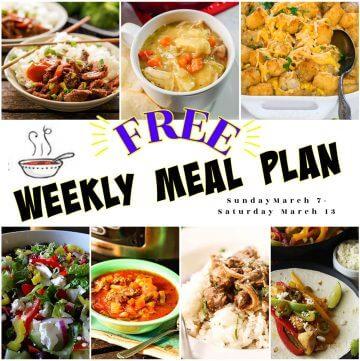 Meal Plan Week 10