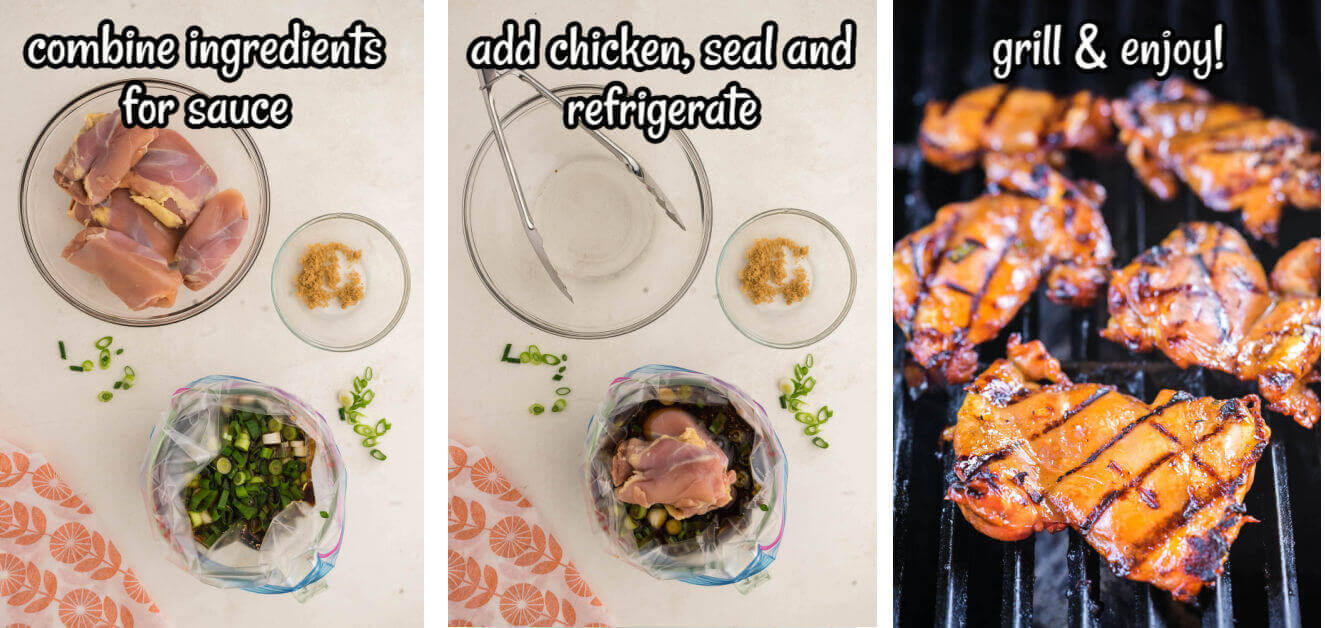 Step by step instructions showing how to make this recipe