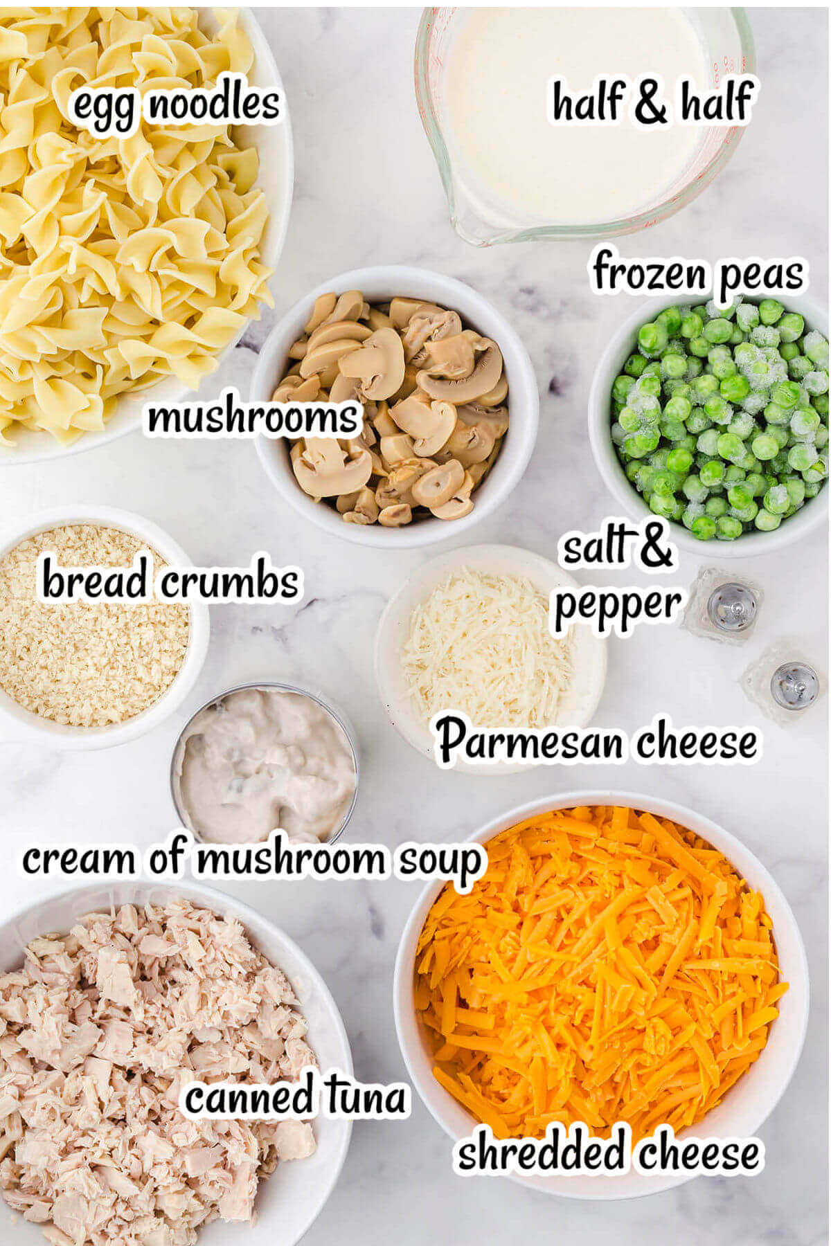 Photo of ingredients needed to make this recipe, with print overlay.